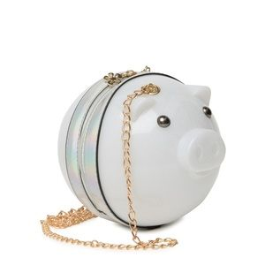 White Pig Purse by Pink Haley